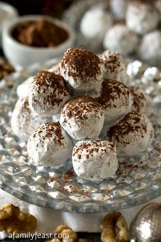 These Bourbon Truffles are a delicious, easy, no-bake, grown-ups-only treat!