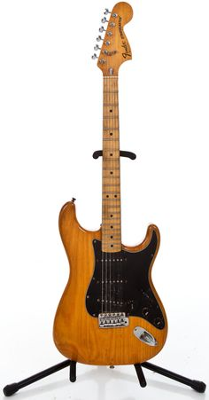 1979 Fender Stratocaster Natural Solid Body Electric Guitar