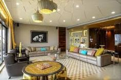 Eclectic POP False ceiling design for living rooms with lights- Luxury interiors with sofas Design Typography, Design Logo, Design Poster, False Ceiling Cost, Simple False Ceiling Design, Drawing Room Ceiling Design, Living Room Green, Living Rooms, Ceiling Materials