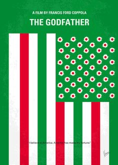 Minimalist Movie Poster - Godfather