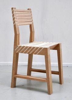 Een stoel die in drie stoelen kan stoelen