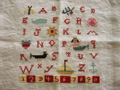 Mermaid Sampler cross stitch pattern by Birds of a Feather at www.thecottageneedle.com