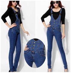 27.98$  Buy here - https://alitems.com/g/1e8d114494b01f4c715516525dc3e8/?i=5&ulp=https%3A%2F%2Fwww.aliexpress.com%2Fitem%2FWomen-jeans-overalls-plus-size-2015-Fashion-Brand-Cotton-elastic-Blue-jeans-pants-Ladies-Casual-Skinny%2F32346612454.html - Women jeans overalls plus size 2017 Fashion Brand Cotton elastic Blue  jeans pants Ladies Casual Skinny denim overalls Trousers 27.98$