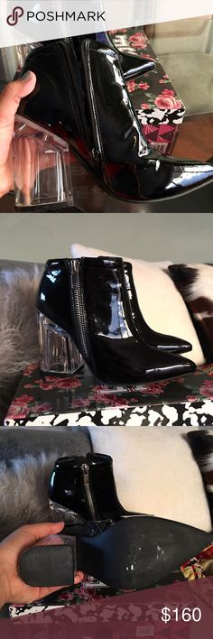 Jeffrey Campbell booties Worn once Jeffrey Campbell Shoes Ankle Boots & Booties