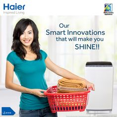 With smart NZP #technology, we ensure your #wash process doesn't stop due to low pressure of water.  #Laundry   #WashingMachine   #Haier   #Innovation   #LifeStyle  #InspiredLiving