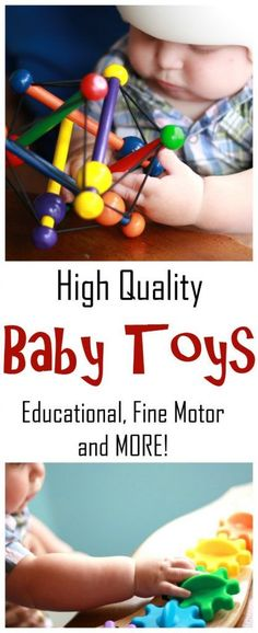 Well all want our baby toys to be educational, but what exactly does that mean? Find out how to pick toys that sensory friendly, promote fine motor and gross motor skills as well as social interaction with babies.