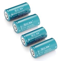 4PCS MECO 3.7v 1200mAh Reachargeable CR123A/16340 Li-ion Battery  Worldwide delivery. Original best quality product for 70% of it's real price. Buying this product is extra profitable, because we have good production source. 1 day products dispatch from warehouse. Fast & reliable...