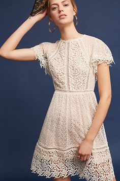 Ranna Gill Larissa Lace Dress