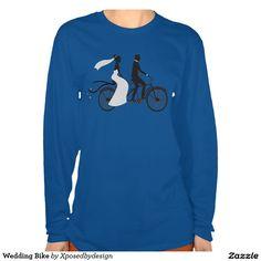 Wedding Bike Tee Shirts