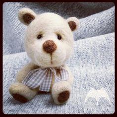 #felt #bear #needlefelting #teddy #pooky