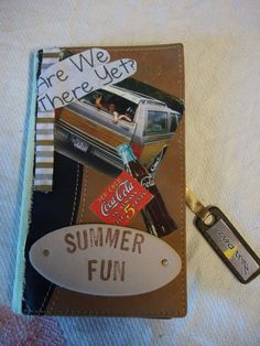 Summer Vacation 2015 Tag Along Notebook Journal Memory Book