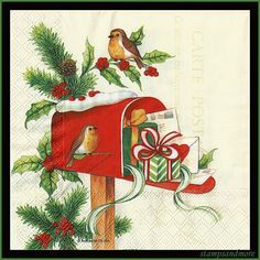 Bird Paper Napkins