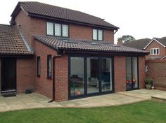 sloping roof detail for single storey extension - Google Search