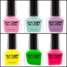 #KAOIR Nail Lacquers - Available starting at $9.99 at www.kaoir.com