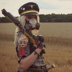 Ava Cooper, Soldier in the Salvation Army at the post apocalyptic LARP Blodsband Reloaded.