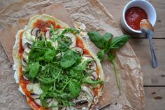 A rapariga do blog ao lado: Pizza Homemade (vegetariana e sem glúten)