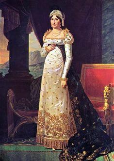 Le donne di Napoleone all'Isola d'Elba - La madre Letizia Romolino