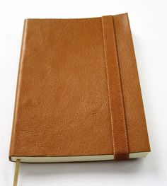 Leather Journal Handmade cover Pocket Notebook Blank Natural Color #ArtBreak
