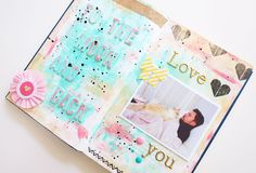 by Peonia: Project Book: Febrero  #scrapbppking #scrap #book #manualidades
