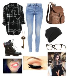 """""""Fall is getting closer"""" by madisonunicorn ❤ liked on Polyvore featuring G-Star, H&M and Oliver Peoples"""