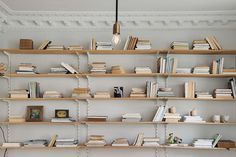 wall mounted bookshelf.