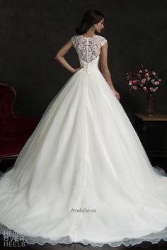 Amelia Sposa 2015 Wedding Dresses Heart Over Heels