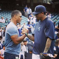 Russell and Felix. #Mariners