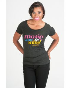 Music T-shirt - Music State of Mind - $30.00