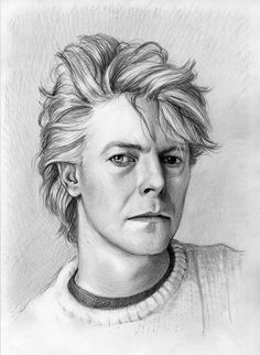 David Bowie by thedrawinghands on deviantART