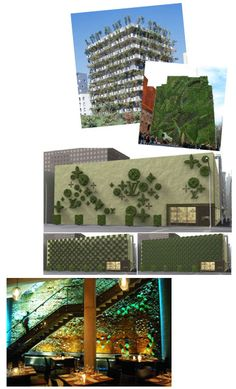 """living walls, featured in pantone's """"tones"""" v3.1 first issue of the 2012 season"""