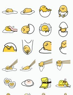 Gudetama - Sanrio Very obsessed over this egg now. K Wallpaper, Kawaii Wallpaper, Sanrio Characters, Cute Characters, Kawaii Drawings, Cute Drawings, Lazy Egg, Cute Egg, Tsumtsum
