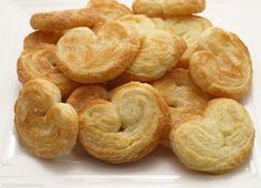 Palmeras de hojaldre, paso a paso » MisThermorecetas Cookie Recipes, Snack Recipes, Snacks, Pan Dulce, Croissants, Chips, Appetizers, Sweets, Cookies