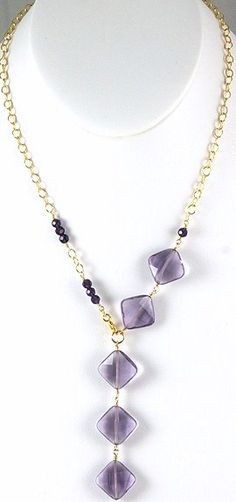 Purple Necklace
