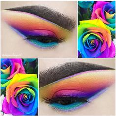 Can't get over the sheer magnificence of @depechegurl's work! She's wearing #sugarpill Heiress eyelashes with @urbandecaycosmetics Electric palette and @meltcosmetics Radioactive stack. — Products shown: Heiress False Eyelashes