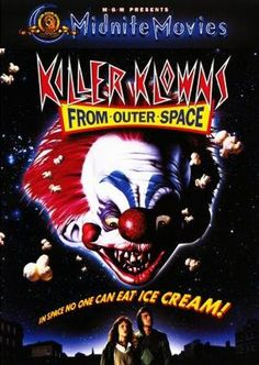 Killer Klowns from Outer Space (1988) movie #poster, #tshirt, #mousepad, #movieposters2