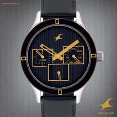 Things are sure to get out of hand when you've got one of the Fastrack watches on. #HandsOn