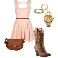 rodeo or country concert outfit. I'm not one fit cowboy boys but this look is gorgeous! Cute Country Girl, Country Girls Outfits, Country Style, Cute Date Outfits, Rodeo Outfits, Concert Outfits, Country Fashion, Love Fashion, Womens Fashion
