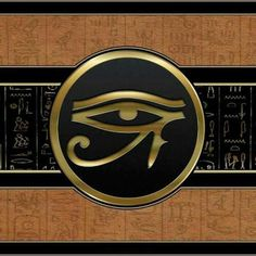 """Horus was an ancient a sky god whose eyes were said to be the sun and the moon. However, he soon became strongly associated with the sun (and the sun god Ra as Ra-Horakhty (""""Ra, who is Horus of the two horizons"""") while Thoth was associated with the moon."""