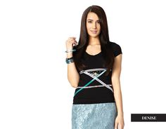 DENISE - Jacqueline Piron | Designs are proudly produced in Canada Hand Sewing, Swarovski Crystals, Canada, Shirts, Shopping, Tops, Design, Women, Fashion