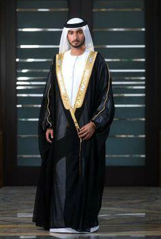 Majid bin Mohammed bin Rashid Al Maktoum....arab mens are much better to dress the modern traditional,