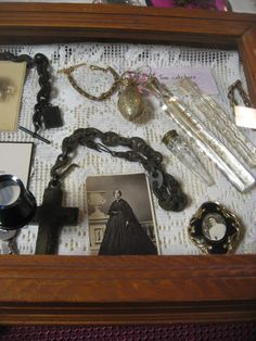 Victorian tear catchers...morbid but strangely cool