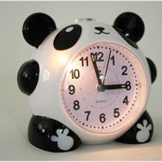 Nette Karikatur Panda Wecker Nachtlicht Stille für Kinder Studenten Kinder Geschenk