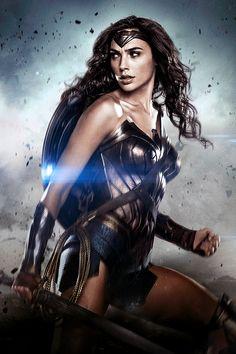 "dcfilms: "" Gal Gadot as Diana Prince/Wonder Woman in ""Batman v Superman: Dawn of Justice"" """