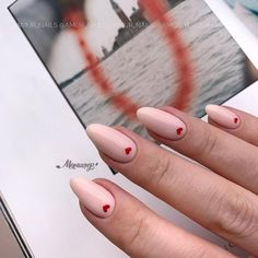 15 Amazing Valentine's Day Nail Designs - Cute little red hearts for Valenti. - 15 Amazing Valentine's Day Nail Designs – Cute little red hearts for Valenti…, - Valentine's Day Nail Designs, Acrylic Nail Designs, Acrylic Nails, Nails Design, Heart Nail Designs, Nail Designs With Hearts, Coffin Nails, Accent Nail Designs, Nude Nails