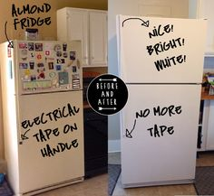 Five rules for painting your fridge.