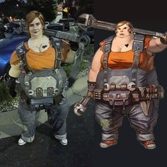 My Friend's AMAZING Borderlands 2 Cosplay of Ellie! #gaming #games #gamer #videogames #videogame #anime #video #Funny #xbox #nintendo #TVGM #surprise