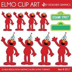 Elmo clip art