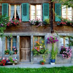 colorful house windows - Google Search