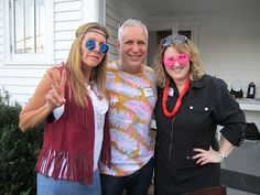 From left, Cindi DeBusk, Ashley Capps and Tasha Blakney: Woodstock comes to Knox!