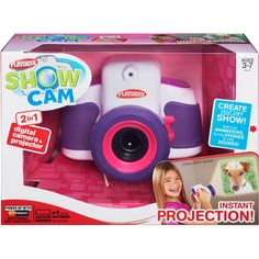 07b0c324e15  60. walmart. Playskool Showcam 2-in-1 Digital Camera and Projector